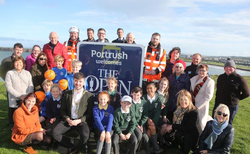 Portrush community initiatives benefit from £100,000 windfall thanks to The Open Legacy Fund