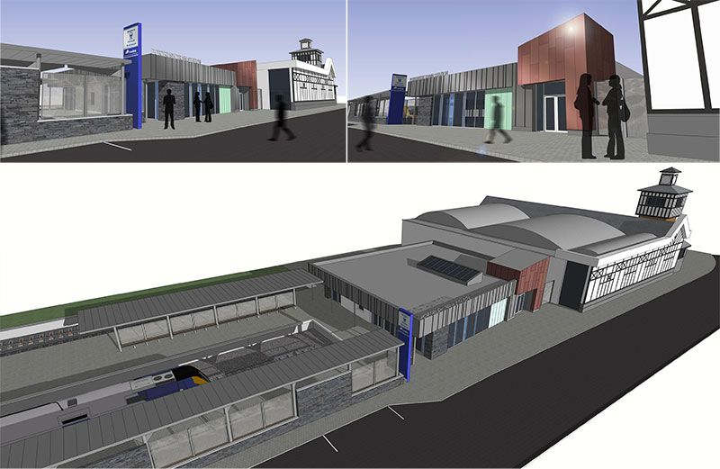 New Portrush Train Station Development