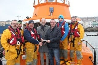 Fletcher Torrens Donation to RNLI